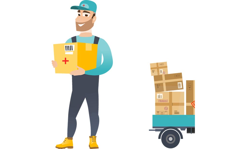 Commercial Goods Courier